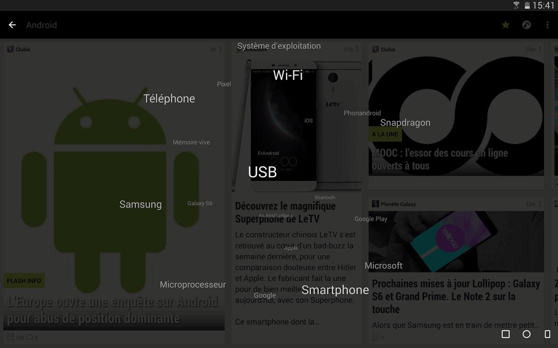 journal du geek application android
