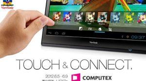 Tablette moniteur Android Viewsonic 22 pouces
