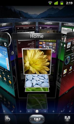 Guide android astuce bureau 3D icones