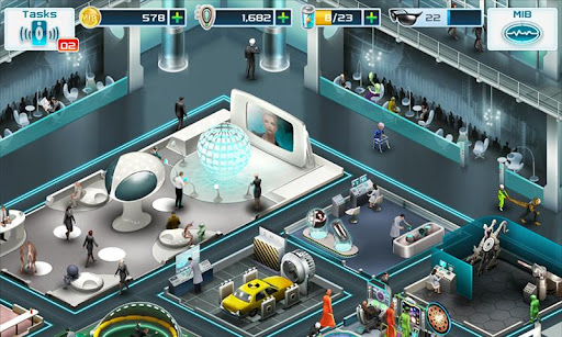 Application jeu gratuit MIB Men in Black III Android Gameloft