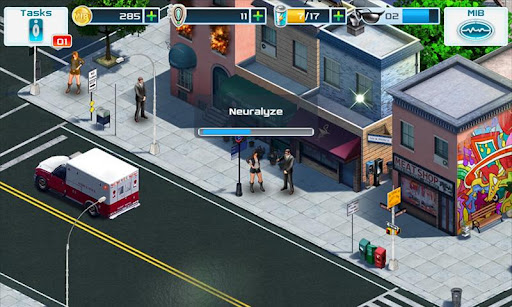 Application jeu gratuit MIB Men in Black III Android Gameloft 2