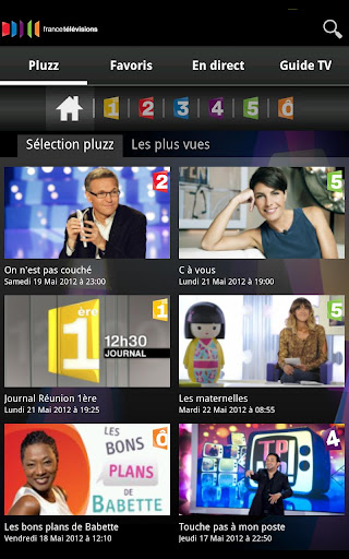 Application gratuite France TV replay direct regarder TV gratuitement android accueil