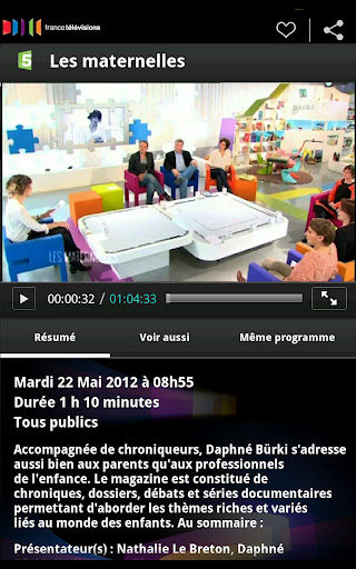 Application gratuite France TV replay direct regarder TV gratuitement android Replay