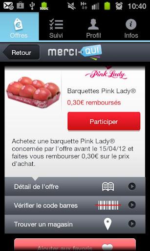 Sélection applications shopping : MerciQui