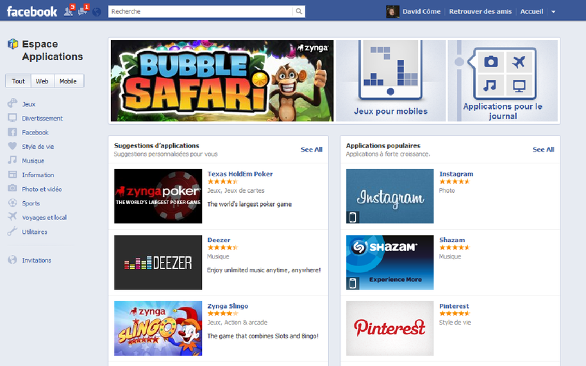app center facebook alternative Google Play Store android