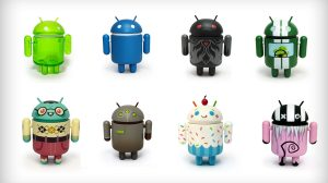Figurines Android à collectionner