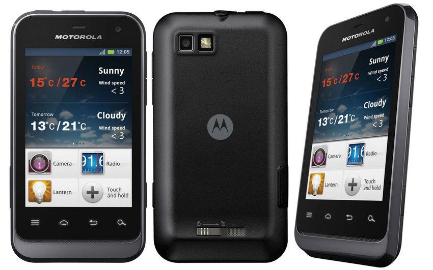 Motorola Defy + in the Test
