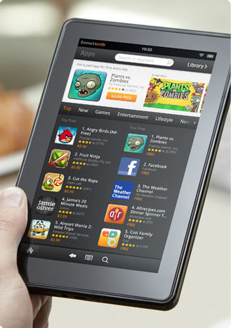 Amazone app store kindle fire