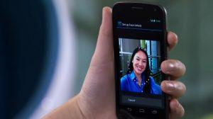Ice cream sandwich jelly bean reconnaissance faciale Galaxy S3 SIII android face unlock