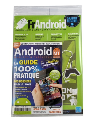 package android mt frandroid supplement kiosques sortie 26 septembre