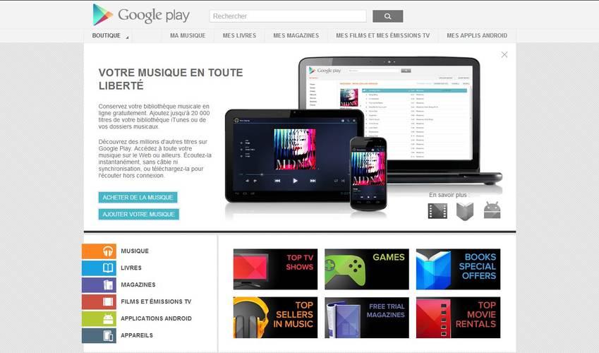 play musique débarque en France