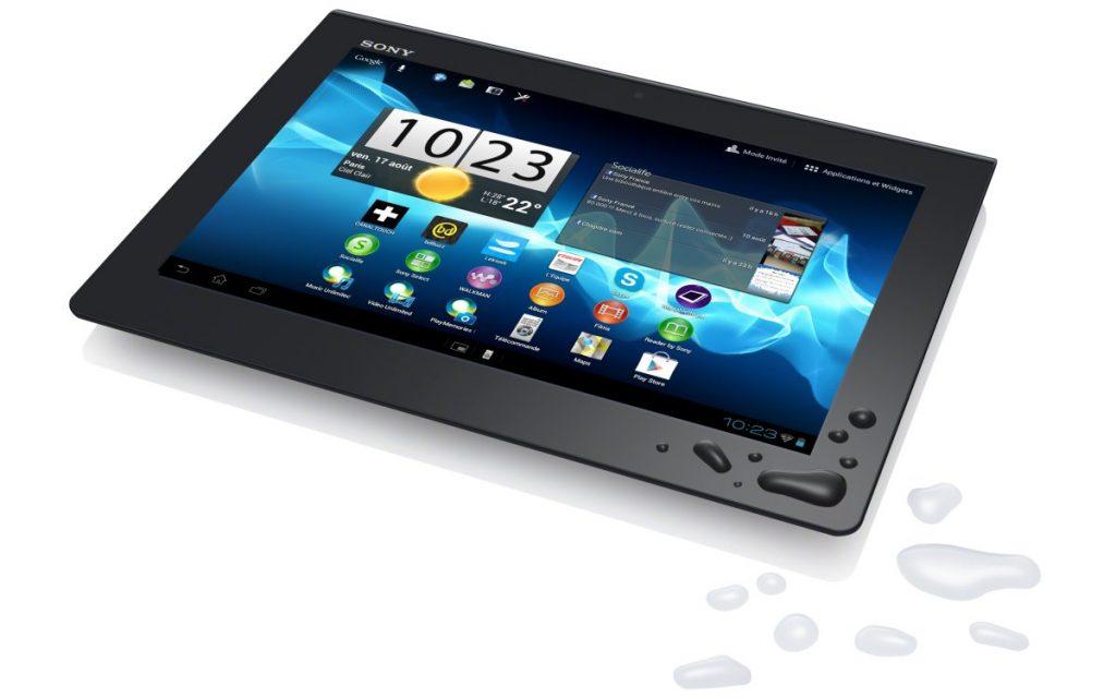test xperia tablet s une tablette herm tique aux reprochesandroid mt. Black Bedroom Furniture Sets. Home Design Ideas