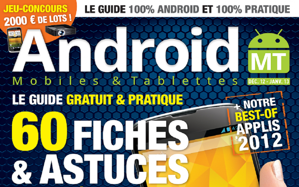 Sortie en kiosques Magazine Android MT numero 8