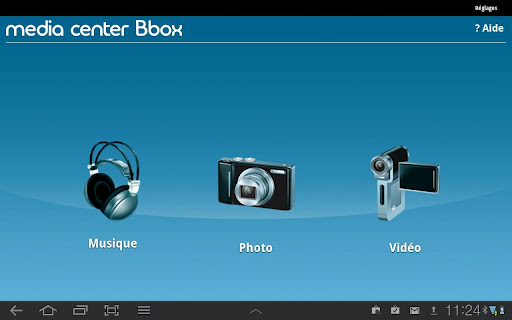 media center bbox passerelle entre box et smartphone. Black Bedroom Furniture Sets. Home Design Ideas