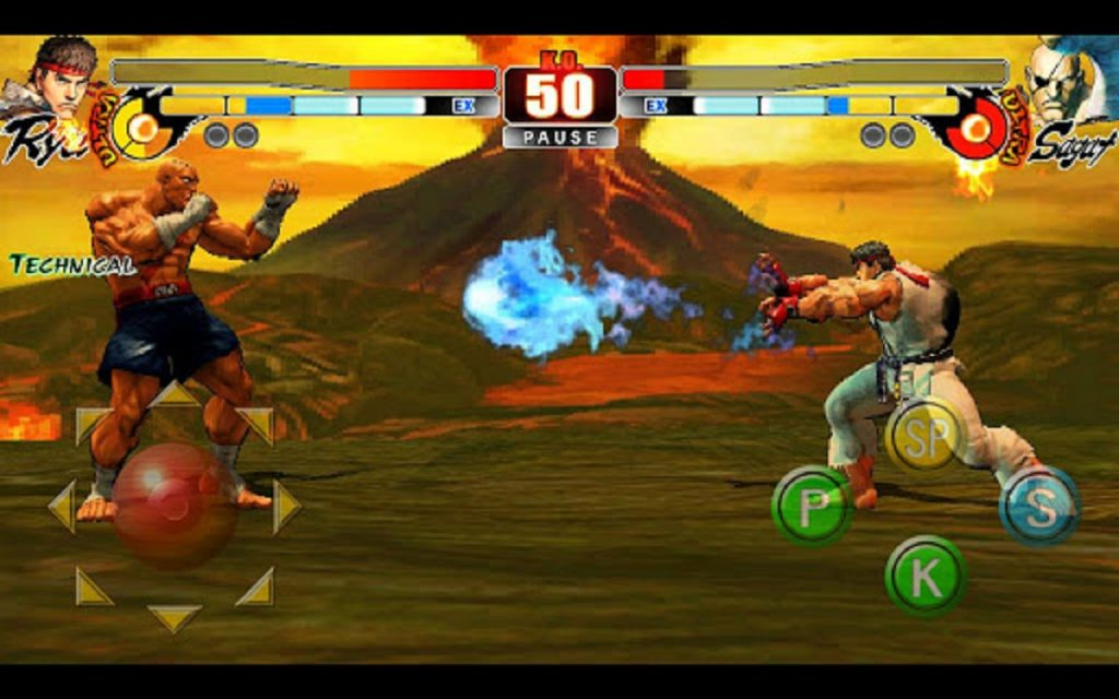 application street fighter IV 4 android main
