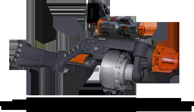 jeux video android gratuit pistolet laser apptag réalité augmentée fps