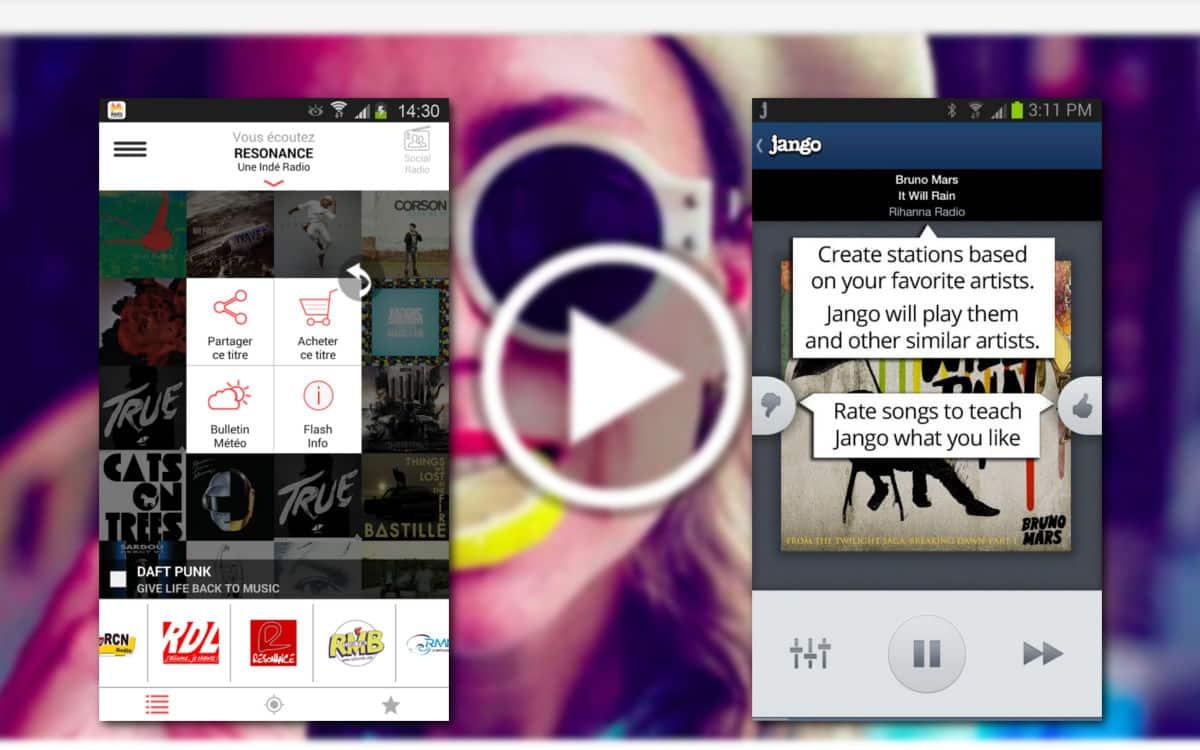 d couvrir de la musique android les meilleures applis. Black Bedroom Furniture Sets. Home Design Ideas