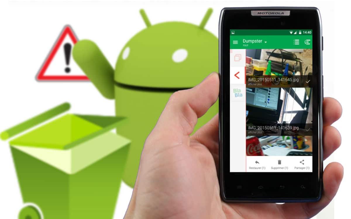 Tutoriel : Récupérer ses fichiers effacés par erreur sous Android (sans root)