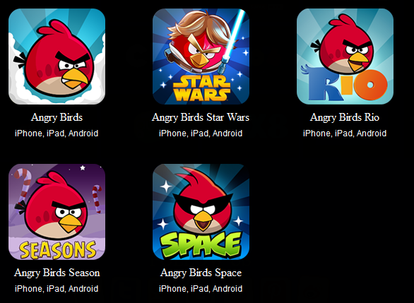 application angry birds toons video web serie