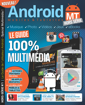 Couverture magazine guide android mt hors serie