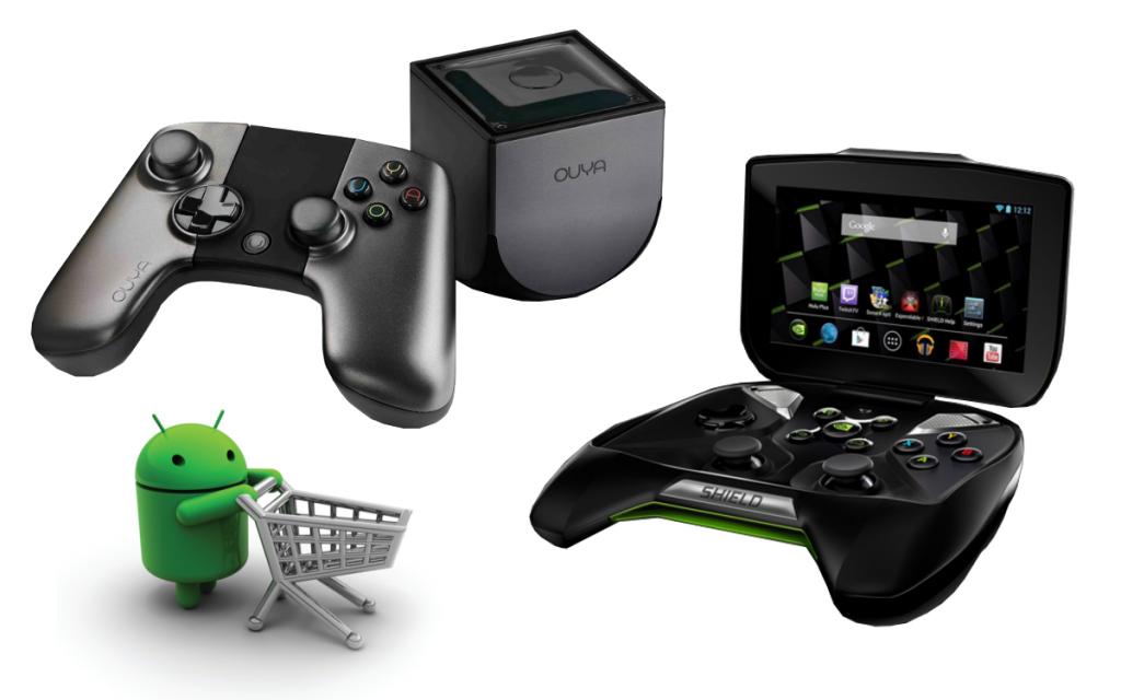 Google d velopperait une console android nouveau challenger pour les machines de salon android mt - Console de salon android ...