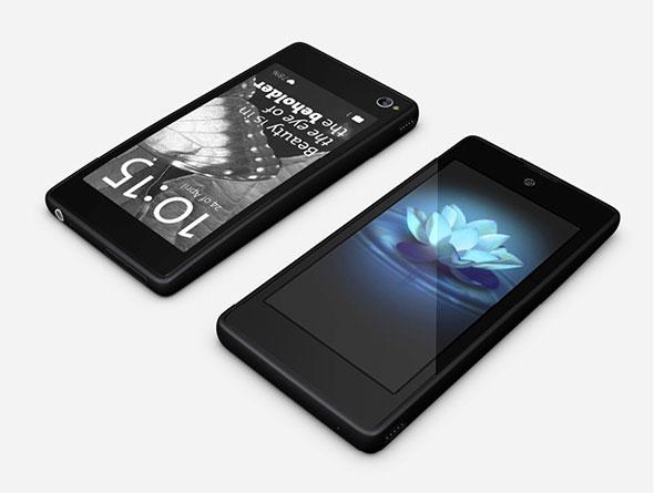 Le Yota Phone, moitié smartphone, moitié liseuse
