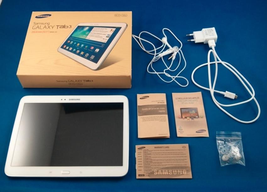 test de la samsung galaxy tab 3 10 1 une tablette sans. Black Bedroom Furniture Sets. Home Design Ideas