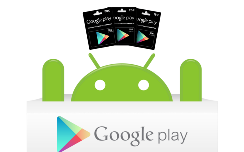 comment utiliser une carte cadeau google play android mt. Black Bedroom Furniture Sets. Home Design Ideas