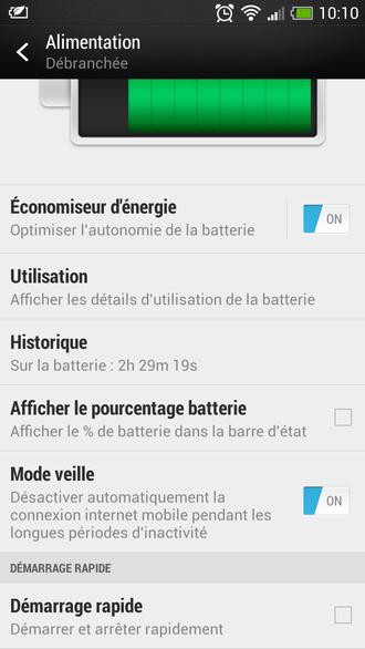 Arrêter et démarrer son HTC One X/X+ rapidement, même avec Sense 5