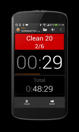 Application chronomètre sport