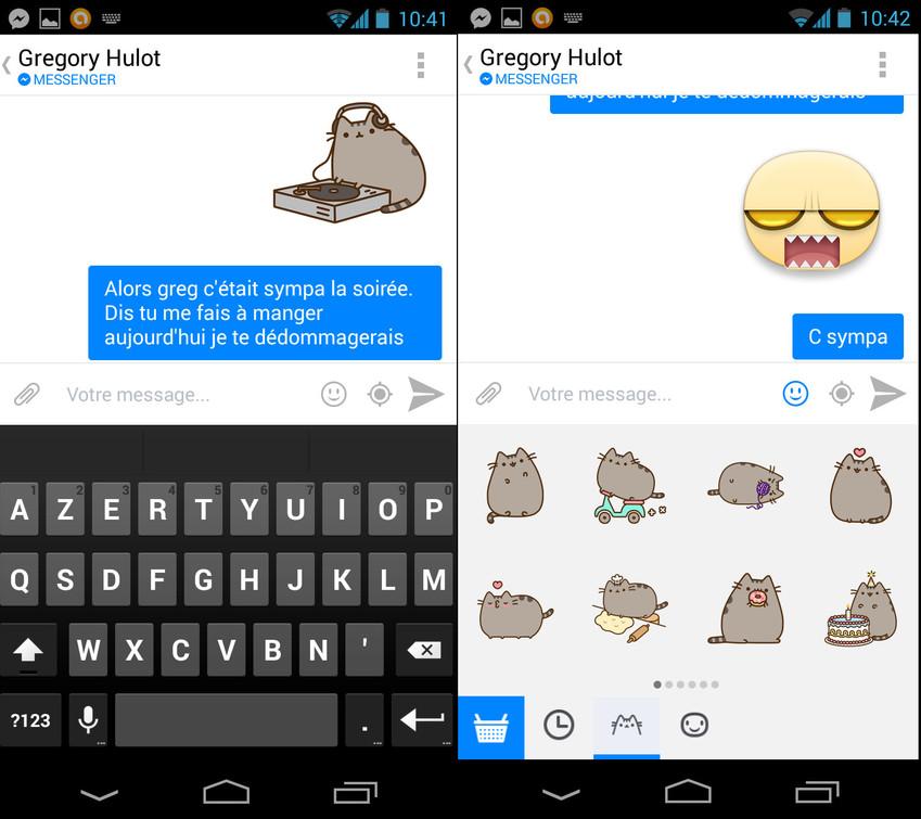Facebook Messenger s'enrichit de nouveaux smileys.