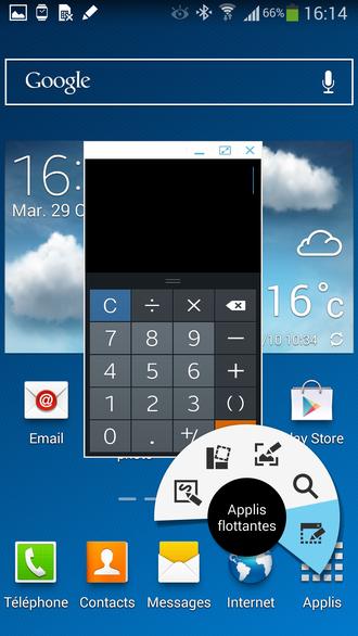 La fonction Air Command du Galaxy Note 3