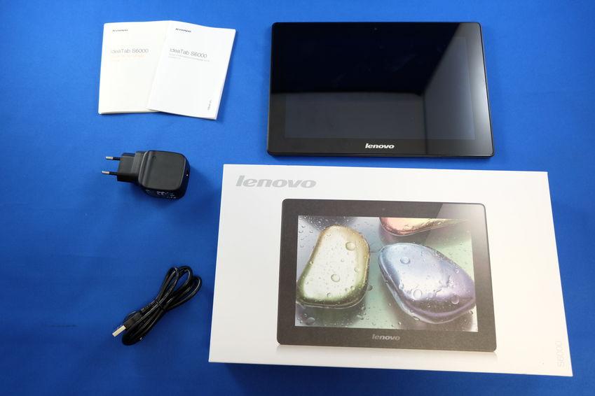 La Lenovo IdeaTab S6000 n'a rien à offrir en plus que son chargeur.