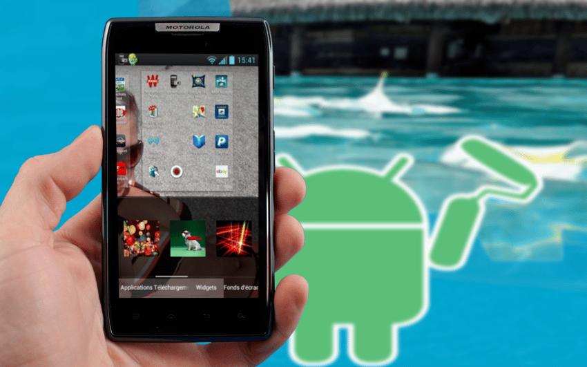 Comment cr er un fond d 39 cran sur mesure pour smartphone for Ecran pc taille