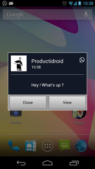 Fenetre Pop Up Pilote Android Pentiosisusga