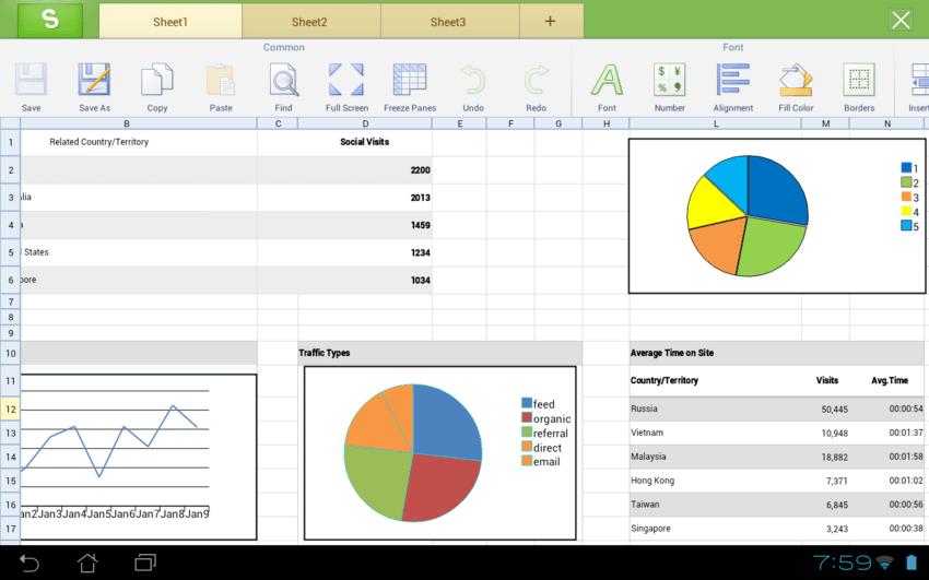 Kingsoft office suite bureautique - Office software applications ...