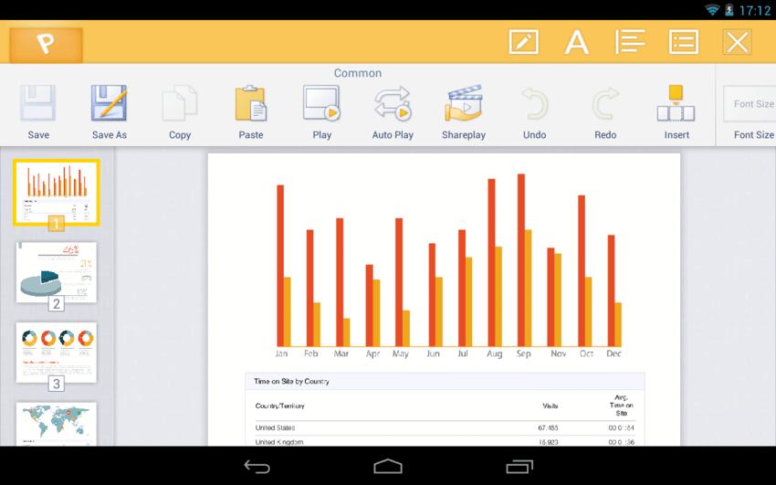 Kingsoft Office - офисный пакет для вашего Android аппарата