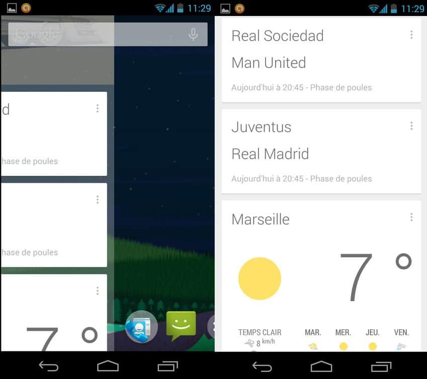 Une autre façon d'accéder à Google Now sur Android 4.4 KitKat