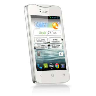 L'Acer Liquid Z3 Duo est un dual-SIM bon marché