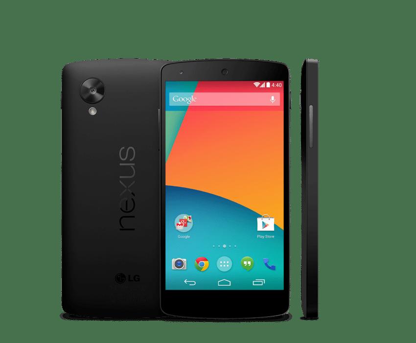 Le Nexus 5 de Google est en tête de notre top smartphone haut de gamme 2013
