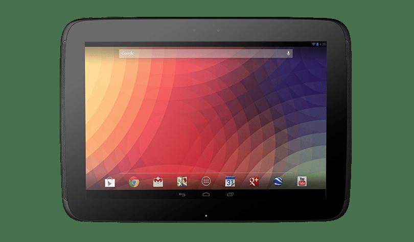 La Nexus 10 de Google propose une résolution élevée