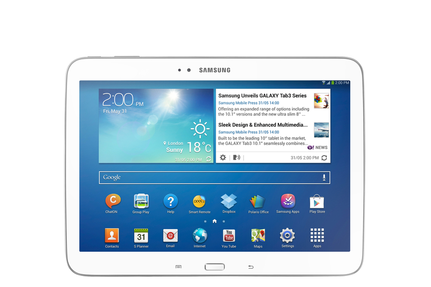 La Galaxy Tab 3 10.1 reste une bonne tablette
