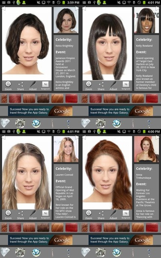 Essayage coiffure virtuelle gratuit