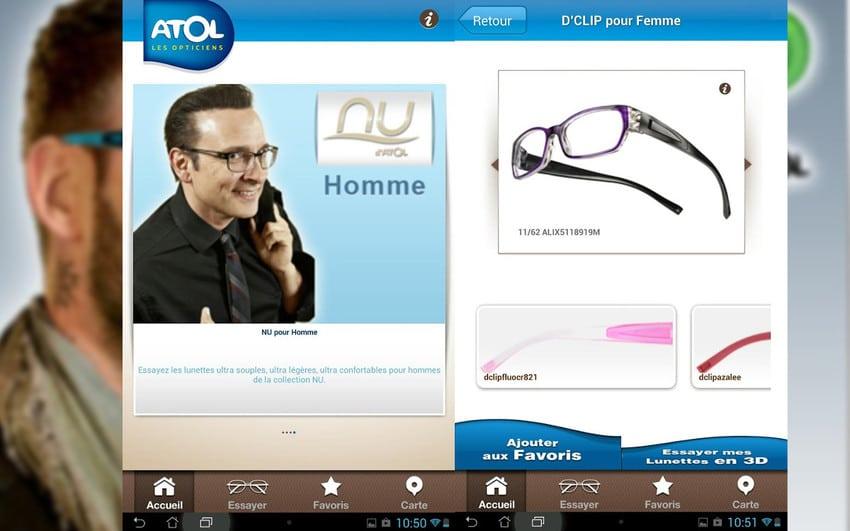 essayer les lunettes atol les opticiens