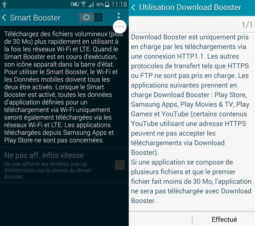 Smart Booster Galaxy S5