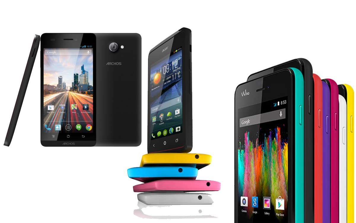 top 5 des smartphones moins de 100 android mt. Black Bedroom Furniture Sets. Home Design Ideas