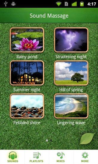 Sound massage no more gloomy relaxez vous en musique - Application couper musique ...
