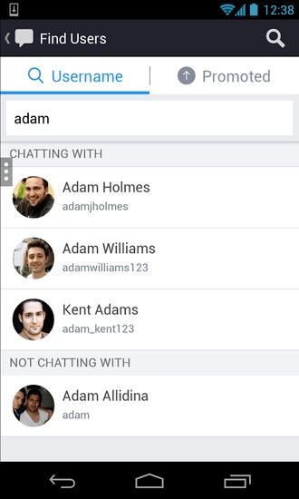 comment trouver des utilisateur kik
