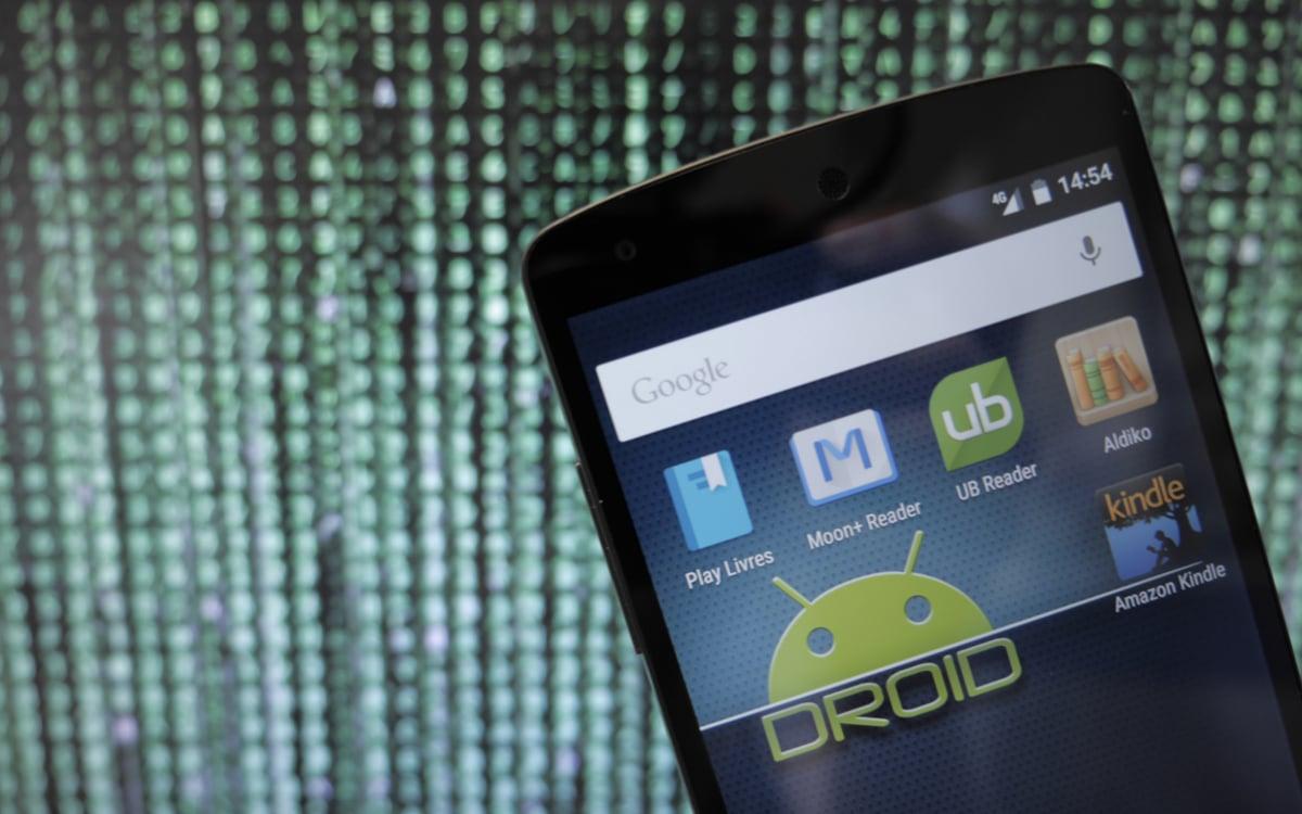 lire un ebook sur tablette android
