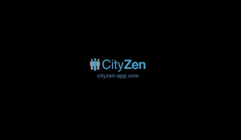 CityZen, une application qui permet aux public d'informer et de localiser son information.